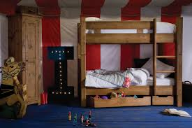 Solid Wood Bunk Beds Uk Junior Plank Bunk Bed Handcrafted By Indigo Furniture For The