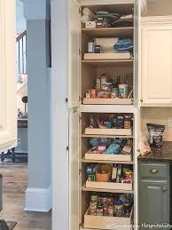 narrow depth kitchen storage cabinet installing sliding shelves in a pantry southern hospitality
