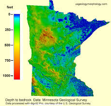 minnesota topographic map usgg the archean terranes of minnesota page 1