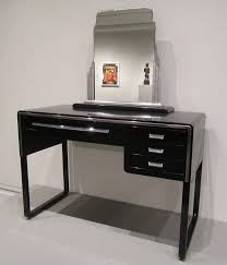 eye on design dressing table and mirror by norman bel geddes