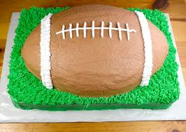 football cake how to make a football cake recipe