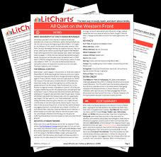 all on the western front study guide from litcharts the