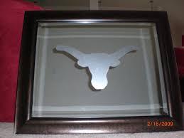 Decorative Longhorns Boutique De Angelique University Of Texas Longhorn Mirror