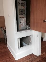 Home Hvac Duct Design Baffle Design To Reduce Noise Of Return