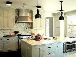 Farmhouse Kitchen Cabinet Classy Farmhouse Kitchen With White Kitchen Cabinet And Black