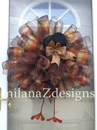 xl deco mesh fall wreath thanksgiving turkey wreath with legs and