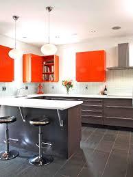 cuisine couleur wengé peinture meuble cuisine orange quelle couleur pour une 2017 avec
