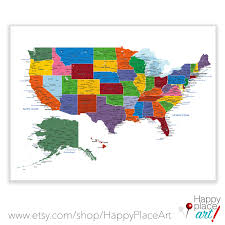 Illinois State Map With Cities by Detailed Usa Map With Cities And States Labels Us Map Print