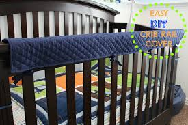 easy diy crib rail cover mommy on demand