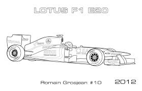 formula race coloring pages kids letscoloringpages