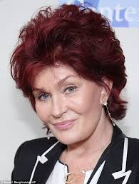 how to get sharon osbournes haircolor sharon osbourne 61 looks youthful without signature red lipstick