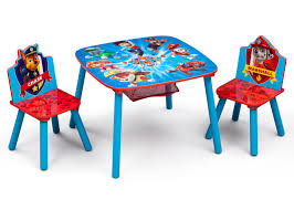 paw patrol kids table set paw patrol table chair set with storage children pinterest