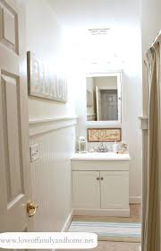 hallway bathroom makeover reveal love of family u0026 home