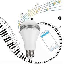 Led Light Bulbs Ebay by Excelvan Wireless Bluetooth Smart Led Music Light Bulb App Control