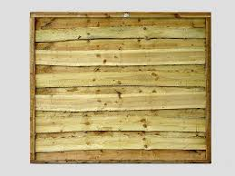traditional garden fence panels super heavy duty pressure