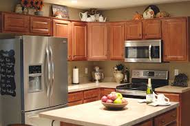 how to decorate above kitchen cabinets for fall top of cabinet decor ideas fresh fall kitchen decor living