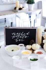 Mashtini Bar Toppings Mashed Potato U0026 Toppings Bar The Thing Your Dinner Party Is