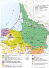 Map Of Lithuania Viewing A Thread Lithuanian Language Area Acc To Kurschat 1876