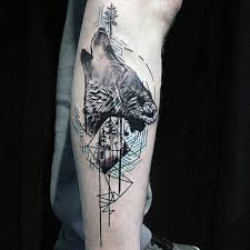 cooltop geometric tattoo 100 nature tattoos for men deep great