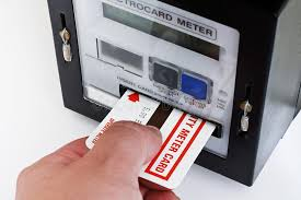 go prepaid card electrical card meter stock image image of competitive 33401367