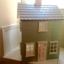 Pottery Barn Dollhouse Find More Reduced Again Pottery Barn Kids Green White Solid