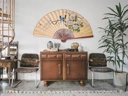 oriental fans wall decor best oriental wall fans 31908