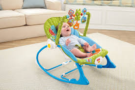Baby Automatic Rocking Chair Fisher Price Infant To Toddler Rocker Elephant Friends Walmart Com