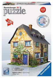 country house puzzle buildings