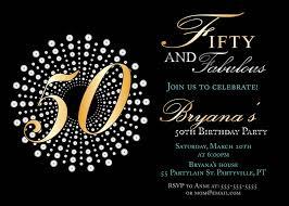 birthday invites beautiful 50th birthday invitations design ideas