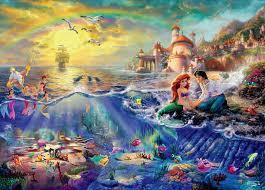 thomas kinkade mermaid 750 piece puzzle ceaco