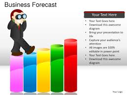 business forecast powerpoint presentation templates