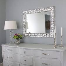 DIY Knock off Metallic Mirror Frame