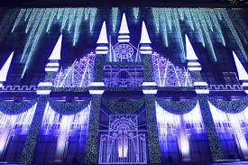 saks fifth avenue lights aks lights up fifth avenue with candy inspired holiday windows
