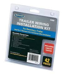 u haul trailer wiring installation kit 42 piece