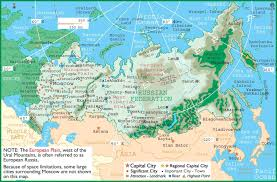Russian Map Russia Map 3 U2022 Mapsof Net