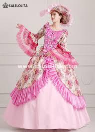 antoinette costume 2016 pink floral renaissance antoinette costume