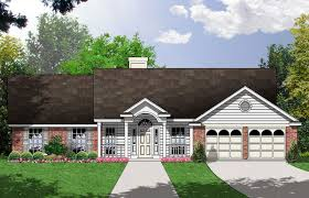 Split Bedroom House Plans Split Bedroom House Plan 7431rd Architectural Designs House
