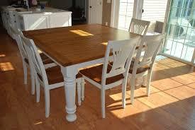 White Square Kitchen Table by White Farmhouse Kitchen Table And Chairs Kitchen Table Gallery 2017