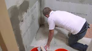 How To Lay Tile In Bathroom by How To Install Hardiebacker Cement Board Youtube