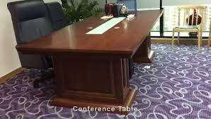 Wooden Boardroom Table Luxury Leather Top Wooden Boardroom Conference Table Modern