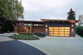 Modern Home Design Vancouver Wa   jetson green eco modern home on the columbia river
