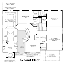 Traditional Floor Plan The Estates At Cedarday The Stansbury Home Design