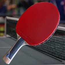 professional table tennis racket gambler pro competitor with zebra carbon blade and zero rubber