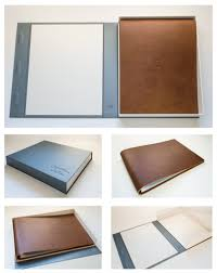 Leather Scrapbook Gift From Parent To Child This Is Your Life Leather Scrapbook