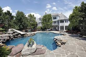 Backyard Swimming Pools by A Backyard Swimming Pool With A Circular Base Of Diameter