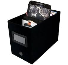 compact cd storage box