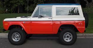jeep baja edition rare baja edition 1973 ford bronco offroad for sale