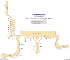Atlanta Airport Gate Map by Air Canada Virtual Destinations