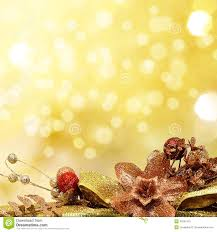 and gold baubles on background stock image image