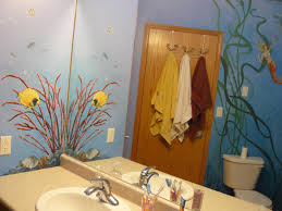 Mermaid Bathroom Decor Fascinating Little Mermaid Bathroom Decor